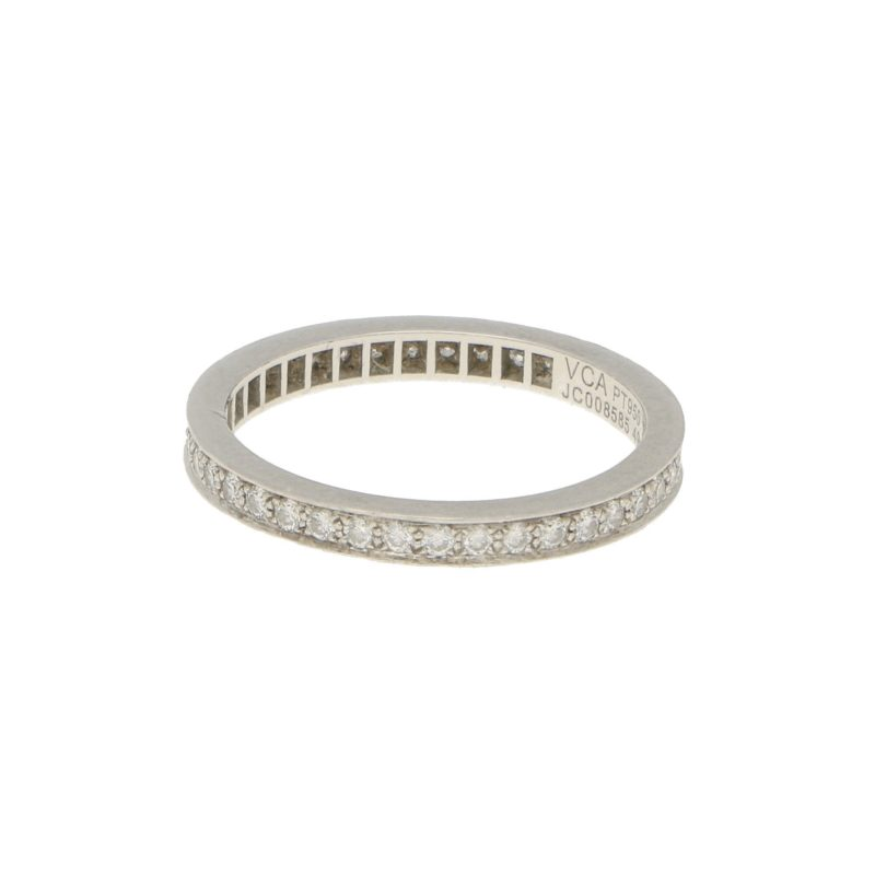 Van Cleef & Arpels Romance Full Eternity Ring in Platinum