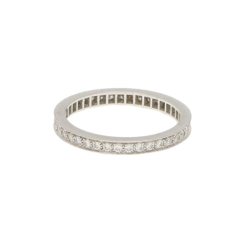 Van Cleef & Arpels Romance Full Eternity Ring in Platinum, 2.1mm