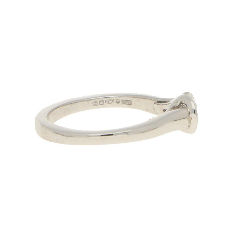 Diamond Solitaire Engagement Ring in Platinum
