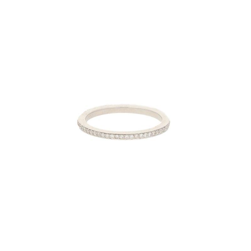18ct gold diamond eternity ring