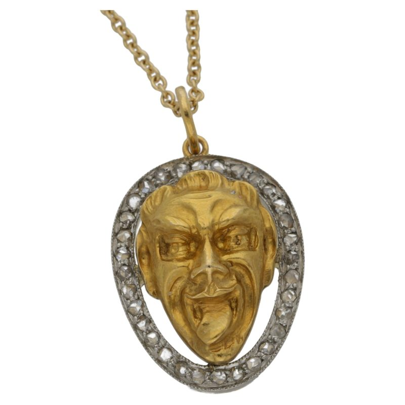 14ct Gold Joker Necklace