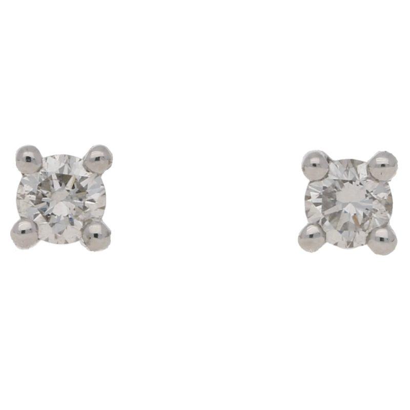 0.20ct total weight diamond studs