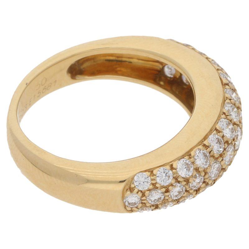 Cartier Pavé Set Diamond Mimi ring