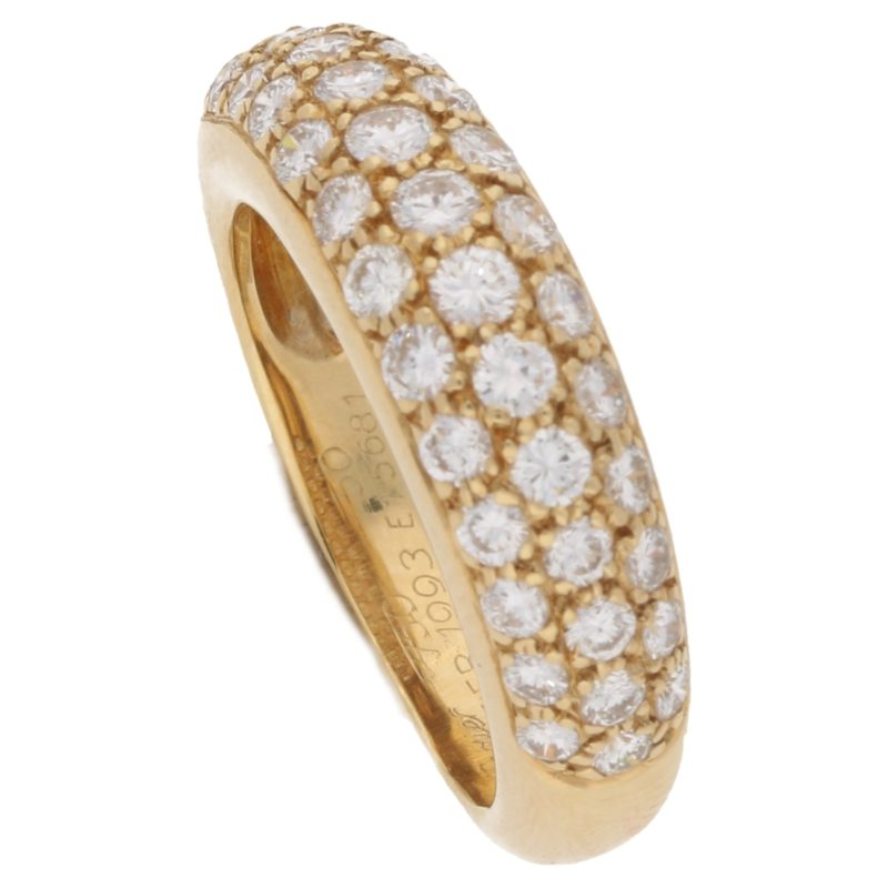 18ct yellow gold Cartier Mimi ring