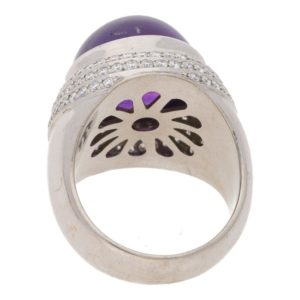 Theo Fennell Amethyst and Diamond Ring