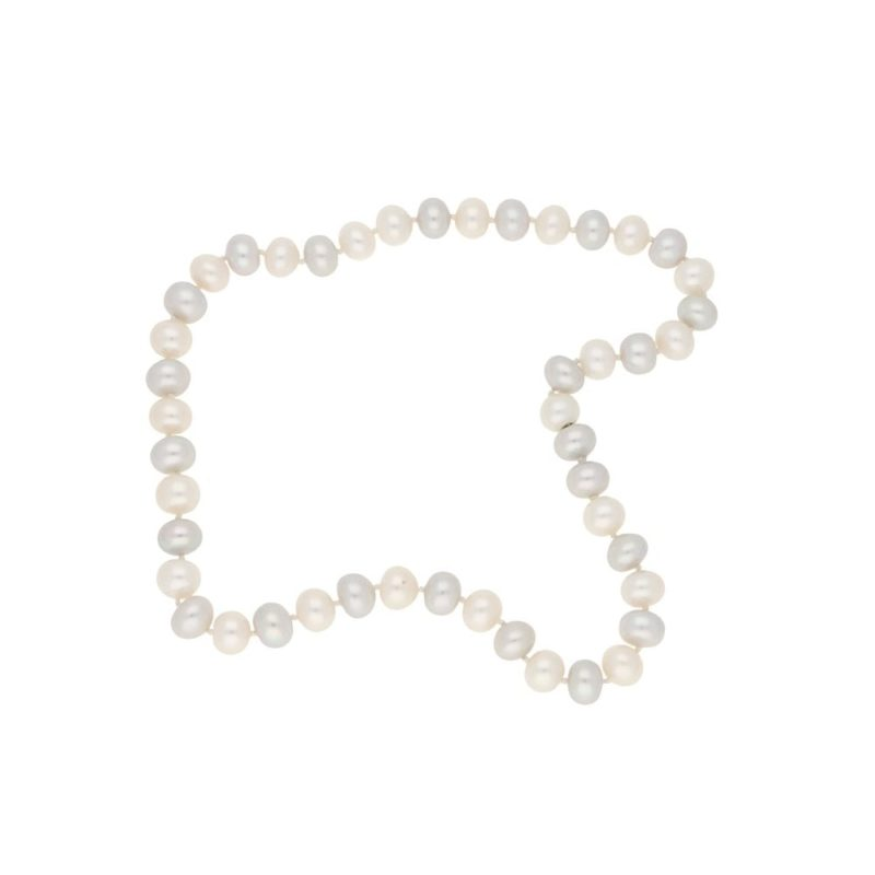 18k gold pearl necklace