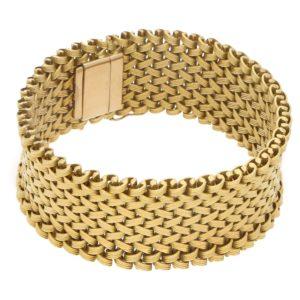 Kutchinsky basket weave bracelet