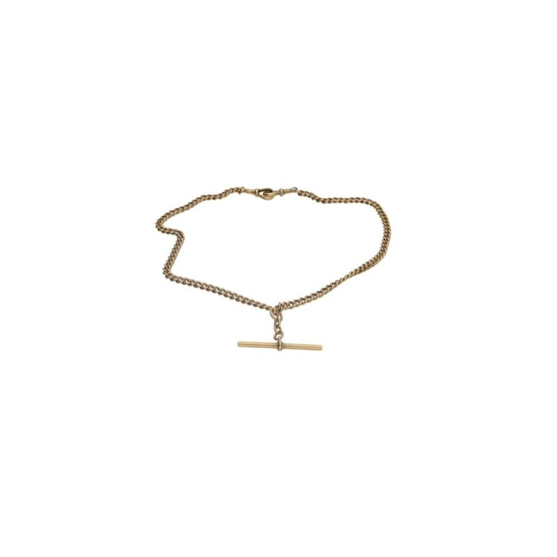18ct gold albert chain