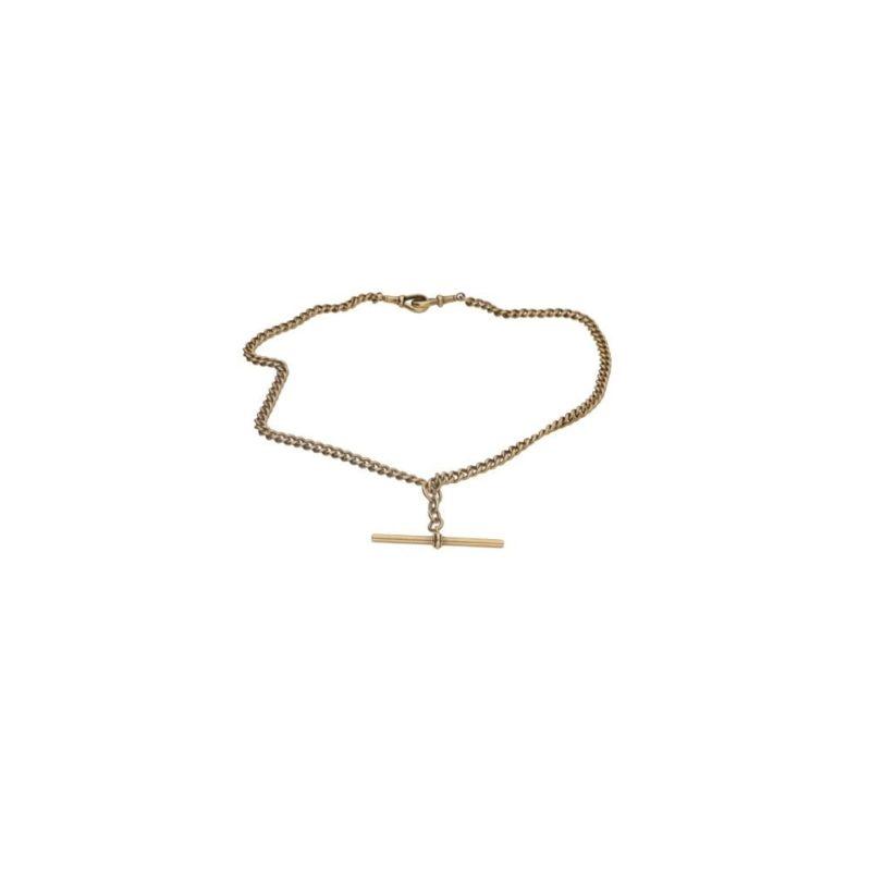 18ct gold albert chain