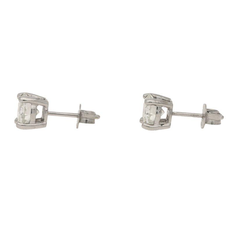2.46 carat Diamond Stud earrings