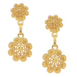 Gold Dangle Earrings