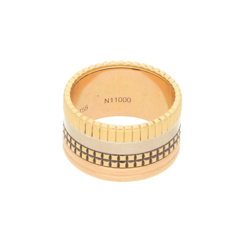 "Boucheron Paris ""Quatre Classique"" Ring in Mixed Gold"