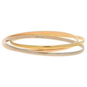 Multicolour Gold Russian Bangle