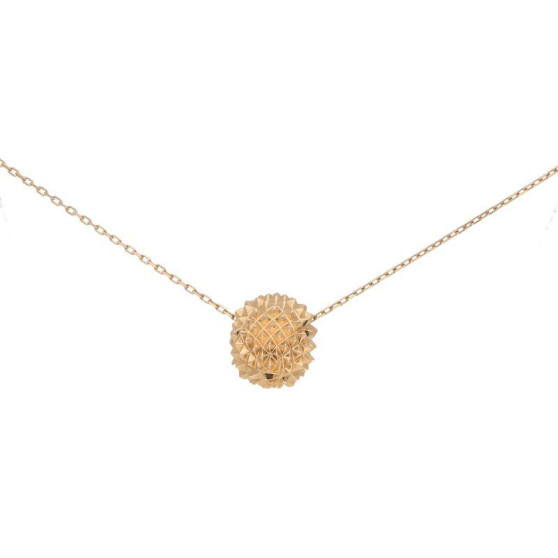 Boucheron Hans The Hedgehog Pendant in Rose Gold