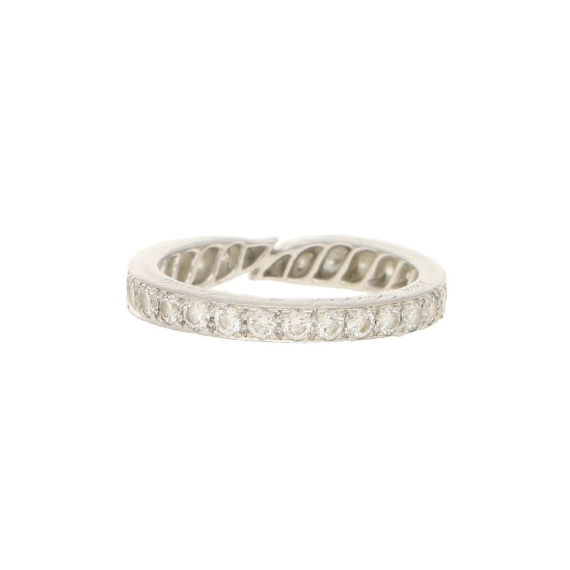 Vintage Van Cleef & Arpels Diamond Eternity Ring