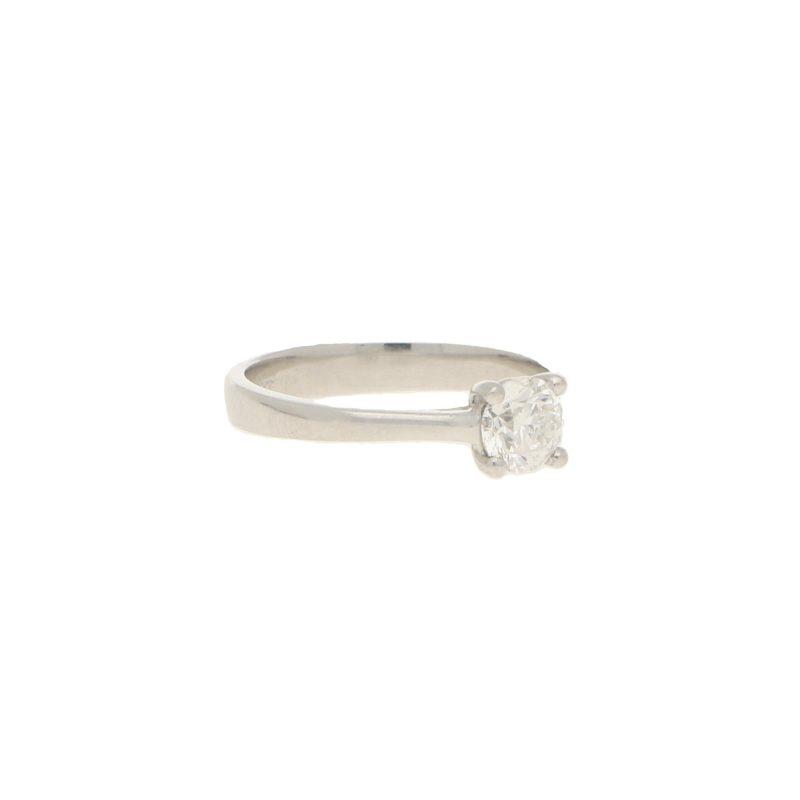 Solitaire 0.51ct Platinum Engagement Ring