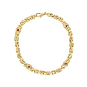 Ruby Bracelet in Yellow Gold