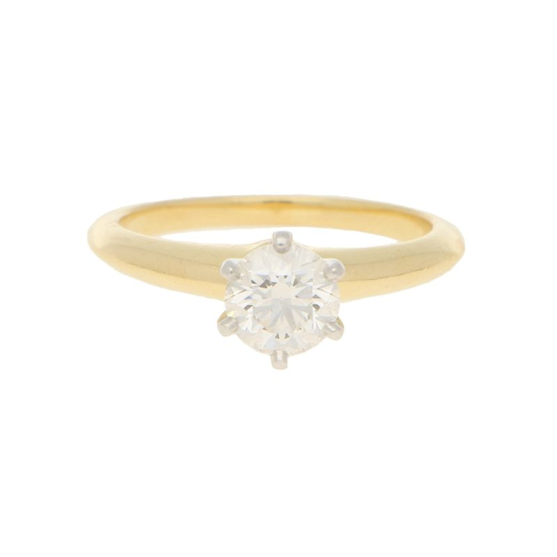 Tiffany & Co Solitaire Diamond Ring