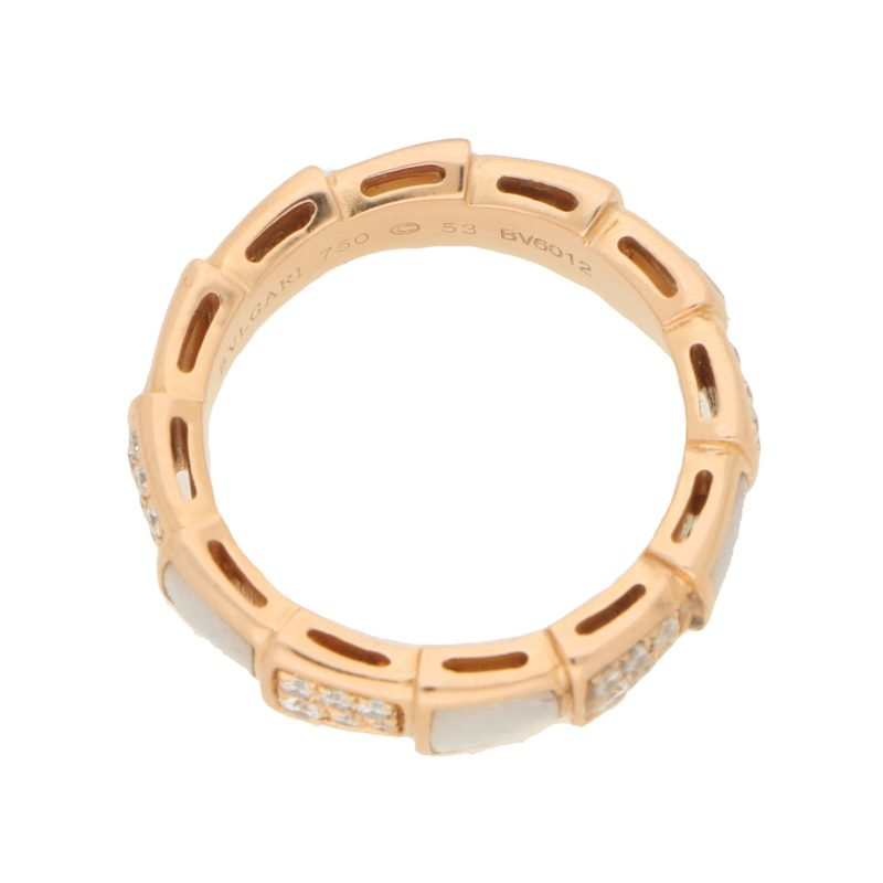 Bvlgari Serpenti Ring in 18 carat Rose Gold