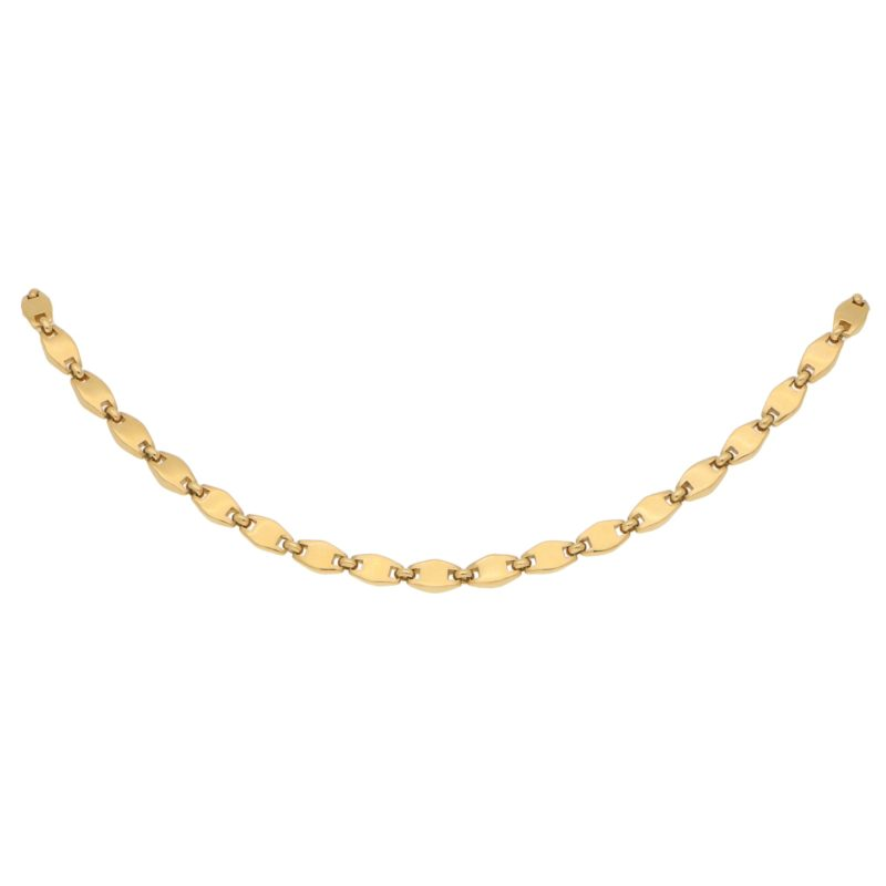 Vintage Cartier Chain with lozenge shaped links, c.1994