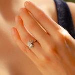 Antique Solitaire Diamond Engagement ring