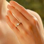 Diamond 0.33ct Solitaire Engagement Ring in Platinum