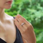 Diamond Full Eternity in White Gold