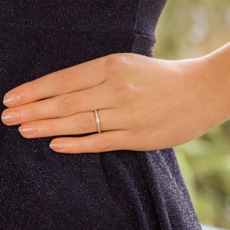 Vintage Van Cleef & Arpels Romance Full Eternity Ring
