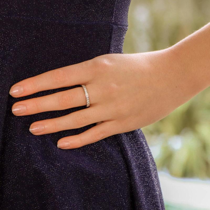 Vintage Van Cleef & Arpels Diamond Eternity Ring