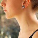 Oscar Heyman Star Sapphire, Diamond and Ruby Earrings, c. 1945