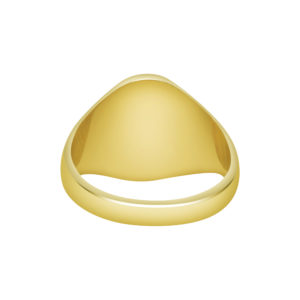 9ct Gold Oxford Oval Signet Ring