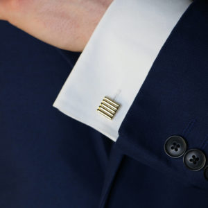 Cartier 14K gold cufflinks