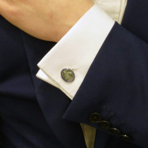 Boxing cufflinks
