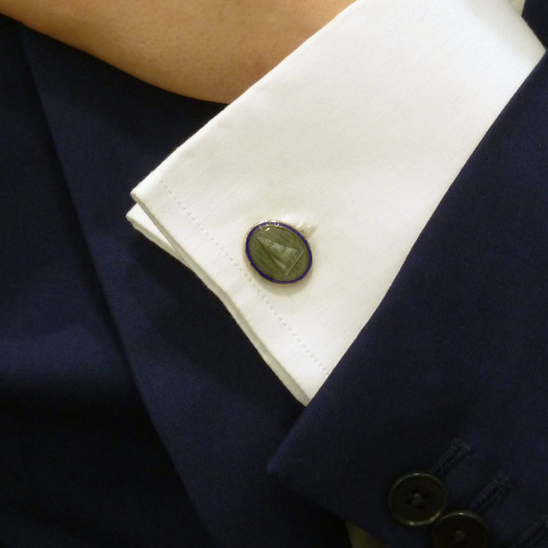Yachting cufflinks
