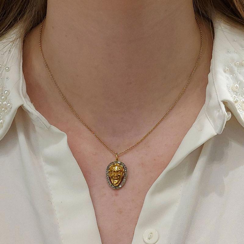 14ct Gold Joker Necklace