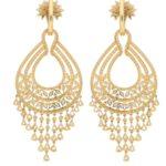 18.25ct Diamond Chandelier Tassel Earrings in Yellow Gold
