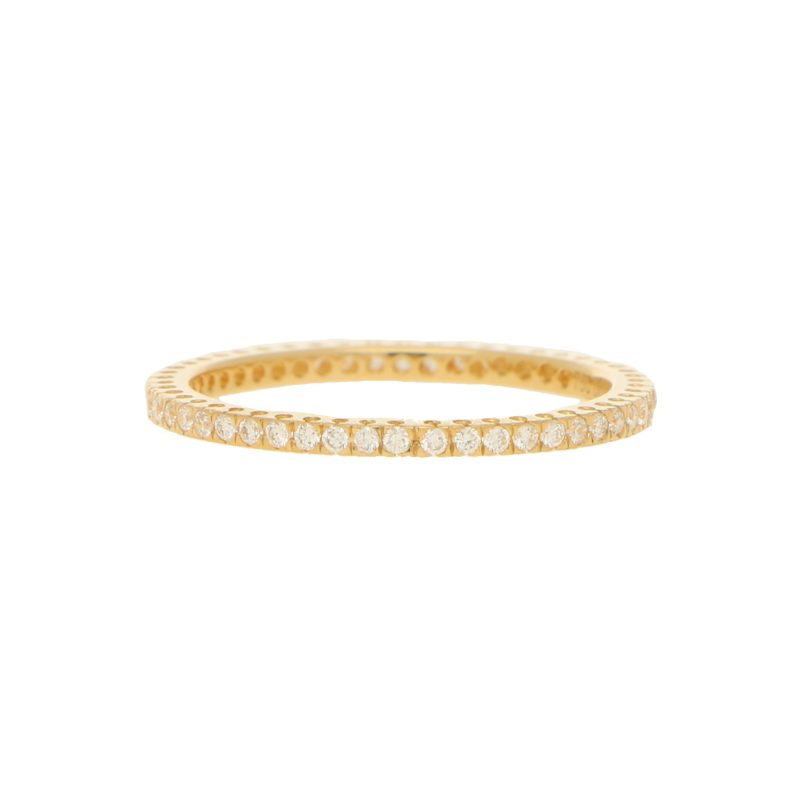 Eternity Ring With Brilliant Cut Diamonds