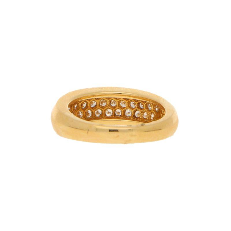 Van Cleef & Arpels Pave Set Diamond Ring