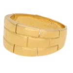 Cartier de Panthere Motif Ring 18kt Yellow Gold
