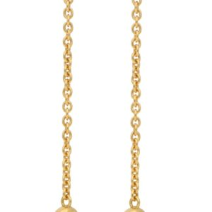 Cartier Trinity Knot Drop Earrings Yellow Gold