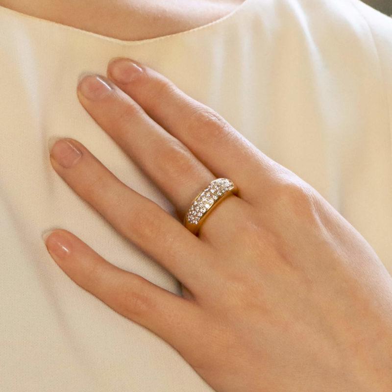 Vintage Van Cleef & Arpels Diamond Ring