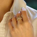 Chaumet Paris Marquise Diamond Bombe Ring