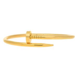 Cartier Juste Un Clou Nail Bangle size 18