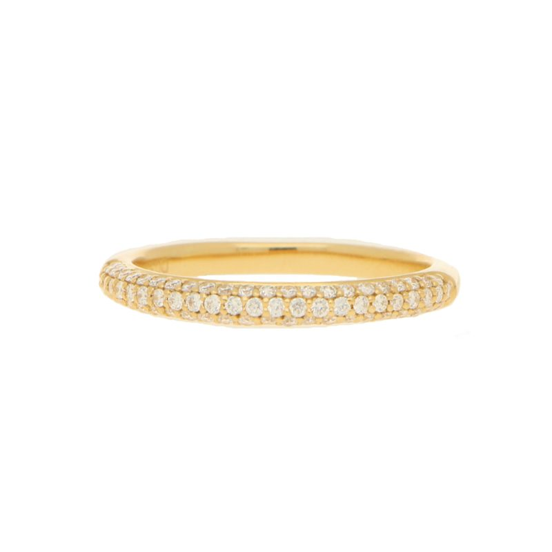 18ct Yellow Gold Diamond Half Eternity