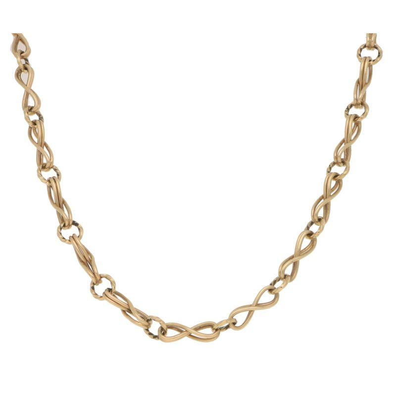 Fancy Long 9ct Chain