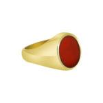 9ct Cornelian Signet Ring