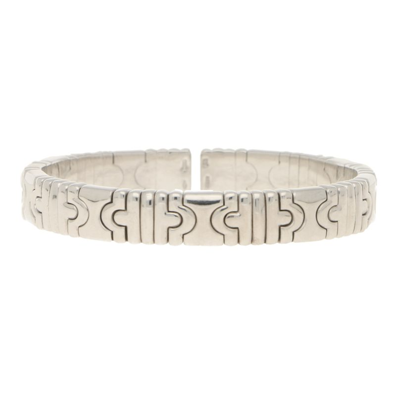 Bulgari 18ct White Gold Bangle
