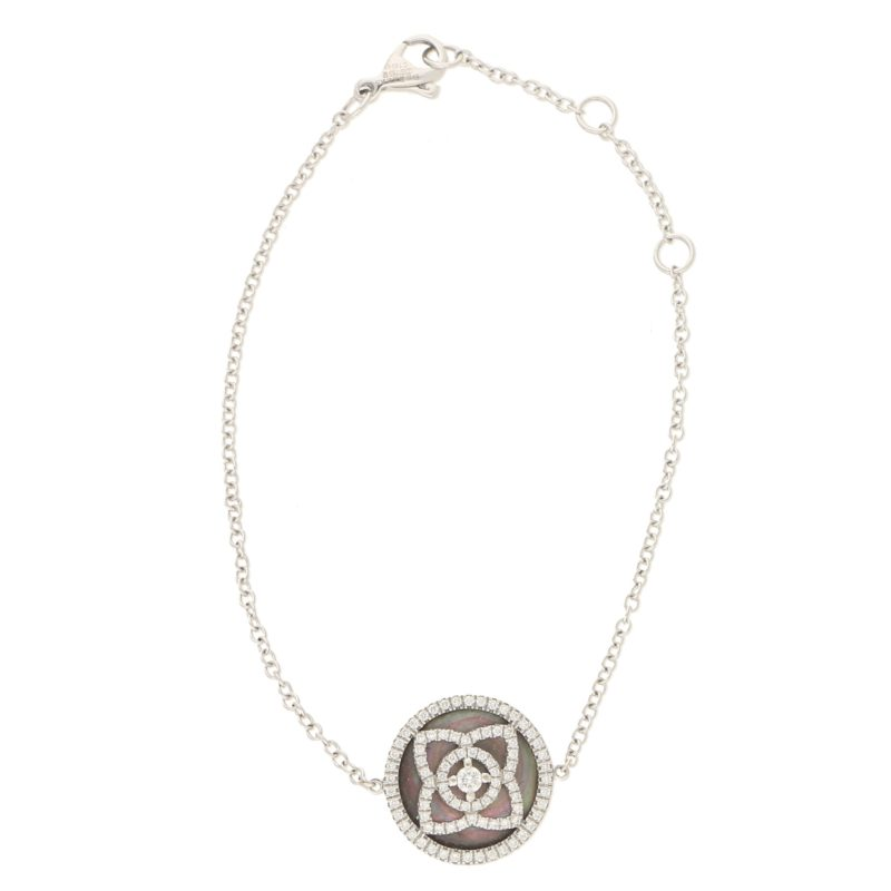 De Beers Diamond and Black Mother-of-Pearl Enchanted Lotus