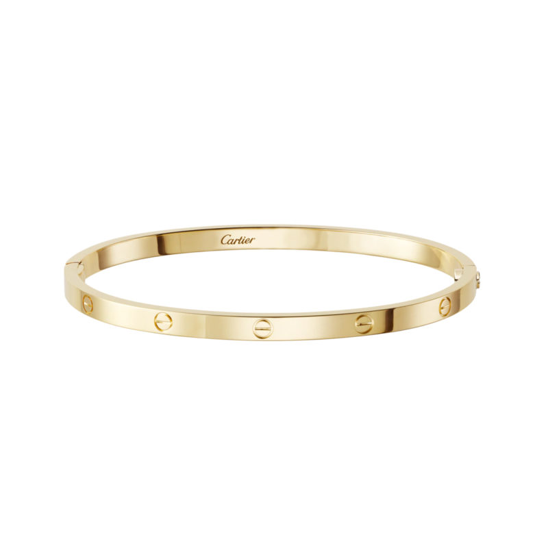 Yellow Gold Love Bangle