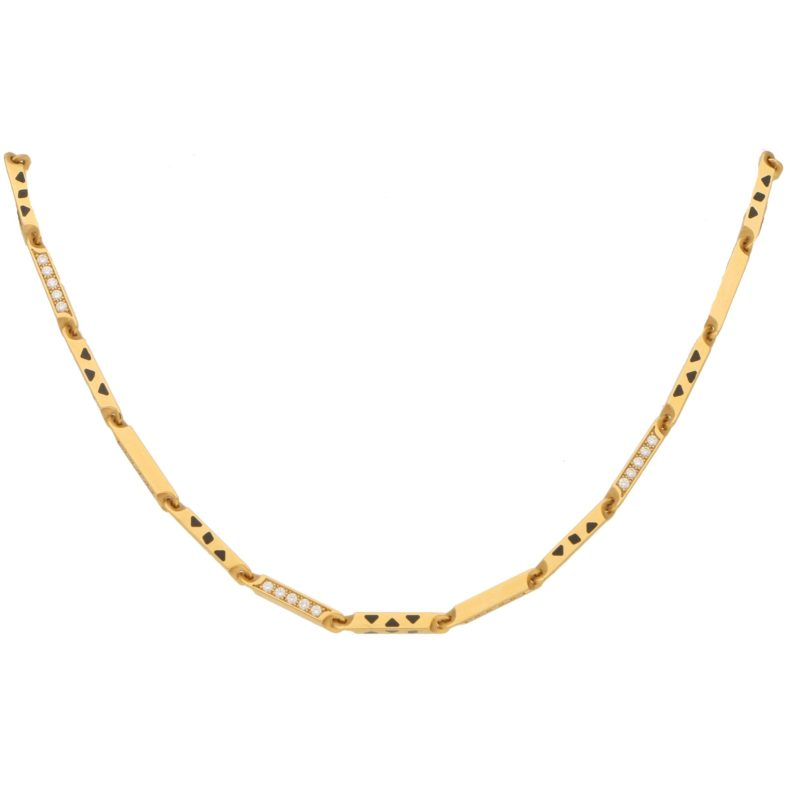 Cartier Panthere Diamond Set Chain